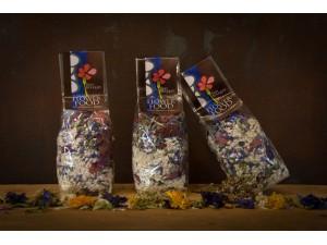 Riso bouquet blu - Risotto ai Fiori eduli