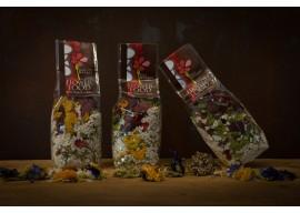 Riso bouquet rosso - Risotto ai Fiori eduli