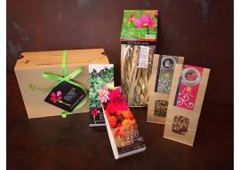 Cofanetto regalo Festa della Mamma - Pasta, infusi, erbe e fiori