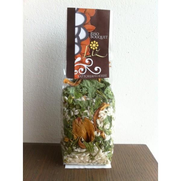 Riso bouquet verde - Risotto ai Fiori Eduli